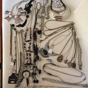 Huge Necklace Lot for wearing resell or crafts